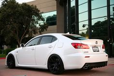Lexus ISF. My wifes next ride!