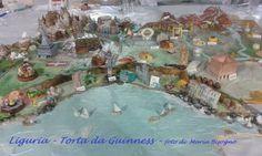 Guinness world record Italia per la torta più grande del mondo !!! Particolare della Liguria - Foto di Maria Bisogno