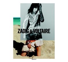 The Zadig Spring/Summer 2013 campaign Jamie Bochert Alasdair McLellan