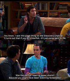 Sheldon for the win!