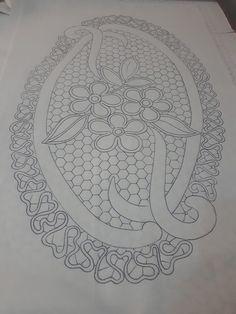 Needlepoint Stitches, Needlework, Embroidery Art, Embroidery Designs, Romanian Lace, Bobbin Lace Patterns, Point Lace, Cutwork, Pattern Art