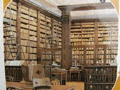 Library at St Omer - amazing...