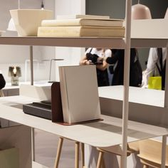 Compile shelving system by Cecilie Manz for Muuto