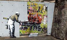 Banksy vs Robbo - London