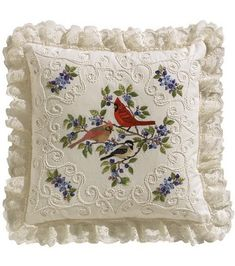 Janlynn Candlewicking Embroidery Kit Birds And Berries