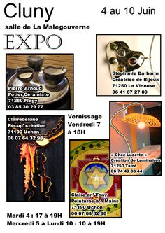 Exposition d'artisanat d'art à la Malgouverne.
