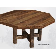 Ana White | Build a Benchmark Octagon Table | Free and Easy DIY ...