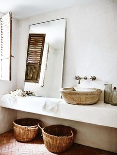 "Resort-inspired bathrooms ""Spa-inspired"" bathrooms and rattan furniture are on the rise, with saves for ""spa bathrooms"" up 269 per cent. Photographed by Anson Smart"