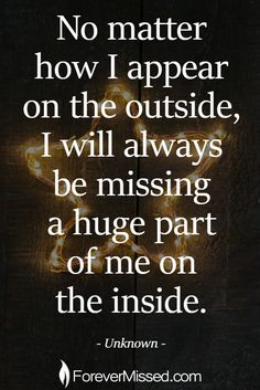Dad, There is that piece of you I know is always missing. my heart aches to wrap my arms around you and have you here with us again 💙 Dad Quotes, Love Quotes, Inspirational Quotes, Miss My Mom Quotes, Dad In Heaven Quotes, Friend Quotes, Crush Quotes, Missing Quotes, Missing Dad