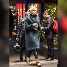 Cate Blanchett Ocean's Eight filming SERIA TAMBIEN ES HERMOSA..