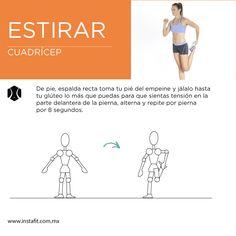Antes de comenzar a ejercitar es necesario que estires, prueba con este estiramiento de pierna para evitar lesiones.