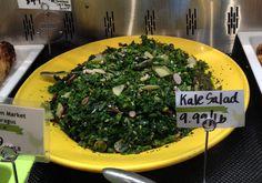 Beautiful kale salad at Glen's Garden Market in D.C.