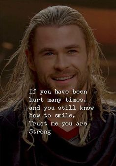 If you have been hurt many times..