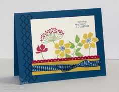 Great layout and card using summer silhouettes