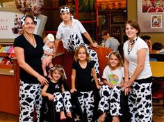 Cow Appreciation Day - Chick-fil-A Santee Teacher Costumes, Halloween Costumes, Cow Costumes, Cow Appreciation Day, Cow Outfits, Cow Pictures, Wife And Kids, Neck Scarves, Summer Fun