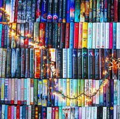 rows & lights by alittlebookworld