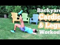 Try this workout in your backyard...no equipment needed!