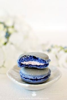 French macaron recipe from Not So Humble Pie, with a macaron troubleshooting guide. :-)