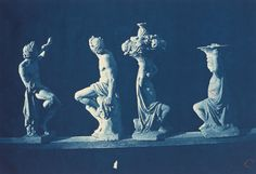 Adolphe Terris, 'Four Statues,' c. 1868, National Gallery of Art, Washington D.C.