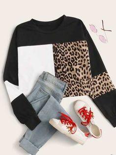 Women's Sweatshirts, Hoodies, Lingerie Sleepwear, Types Of Sleeves, Teen Fashion, Color Blocking, Sportswear, Street Wear, Casual Outfits