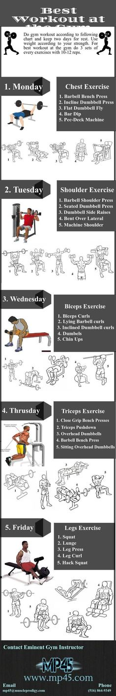 provide the online training programs which are the best workout at gym now. Some fitness workout programs are divided into 5 days. We provide you weekly exercise. In this chart focus on different body muscles with several exercise. Fitness Workouts, Sport Fitness, Mens Fitness, Fun Workouts, Fitness Motivation, Fitness Shirts, Workout Routines, Muscle Fitness, Workout Mix
