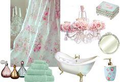I Dream of a Shabby Chic Bathroom for Josselyn & Julianna!