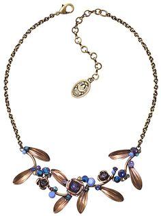 Konplott Halskette In Honor of the Rose blau 5450543235493