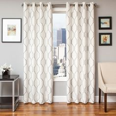 Maxwell Lined Grommet Top Curtain Panel  | Overstock.com Shopping - The Best Deals on Curtains