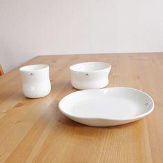 Kahler(ケーラー) マノカップ ホワイト 輸入雑貨、北欧雑貨の通販サイト インテリオーレス