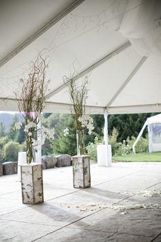 To see more glamorous details about this wedding: http://www.modwedding.com/2014/11/08/beautiful-oregon-wedding-yasmin-khajavi-photography/ #wedding #weddings #wedding_ceremont