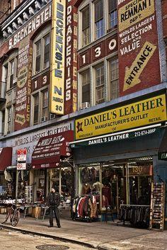 Orchard Street in Lower East Side by Nico Geerlings, via Flickr