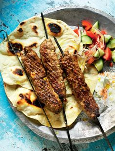 Lamb Kofte. You can cook these on the airfryer grill tray or skewer rack.
