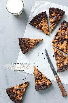 Peanut Butter Swirl Brownies Recipe on Yummly. @yummly #recipe