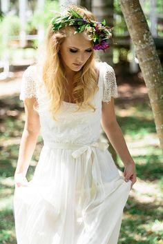 Ivory French lace silk chiffon beaded wedding by Graceloveslace on Etsy