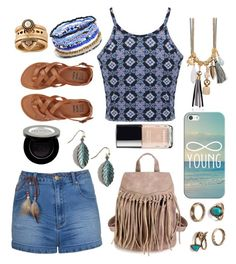 """Forever Young"" by bluedaisywhale ❤ liked on Polyvore featuring Ally Fashion, Miss Selfridge, Shany, Billabong, Chanel, Me to We, Lucky Brand and Casetify"