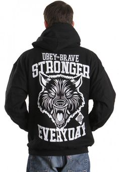 Obey The Brave - Stronger - Hoodie