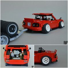 swedishllamalego's 20b Lego Miata :-) |#TopMiata#mazda#miata#mx5 #eunos#roadster #lego