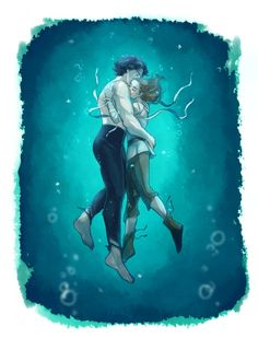 """ask9t: """"He's alone.All alone. the shape of water AU """""""