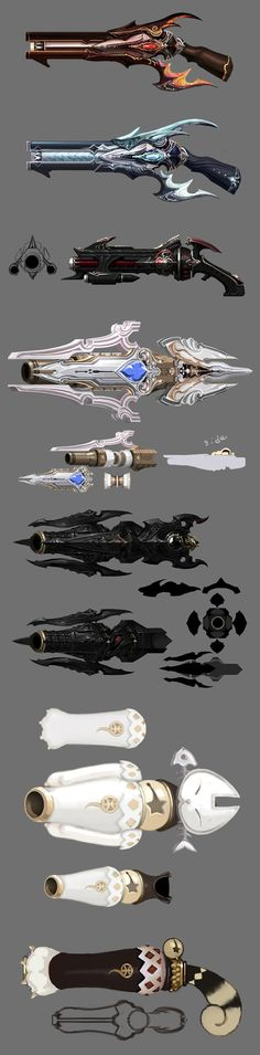 Aion, weapon