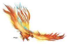 phoenix tattoo by jorcerca
