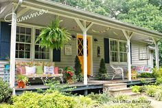 A Joyful Cottage: Living Large In Small Spaces - Bloom Where You're Planted