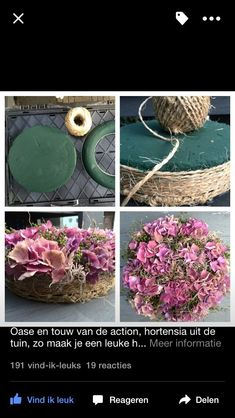 Discover thousands of images about Table Floral DIY - tray to hold cactus Flower Crafts, Diy Flowers, Fresh Flowers, Flower Decorations, Paper Flowers, Beautiful Flowers, Art Floral, Deco Floral, Floral Design