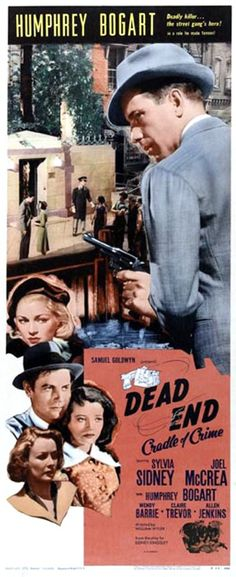 Humphrey Bogart, Wendy Barrie, Joel McCrea, Sylvia Sidney, and Claire Trevor in Dead End (1937)