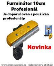 Furminátor 10cm profesionál