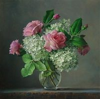 Another amazing realistic artist, Pieter Wagemans and his amazing pictures! He is painting especially flowers. The fine painting of flowers demands considerable Art Floral, Deco Floral, Flower Vases, Flower Art, Still Life Art, Flower Of Life, Botanical Prints, Floral Arrangements, Beautiful Flowers