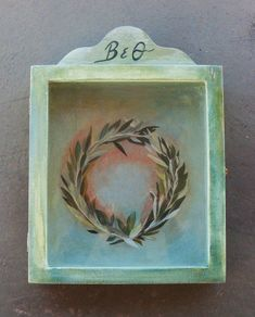 Excited to share the latest addition to my #etsy shop: OLIVE WREATH - Wedding Crown Display Box - Wooden Display Box - Display Box - Display Case - Glass or Acrylic - Cabinet - Stefanothiki https://etsy.me/2zKoatt