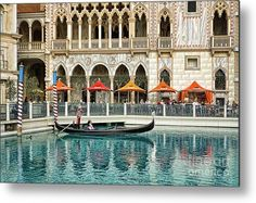 Venetian Las Vegas Metal Print  by Tatiana Travelways