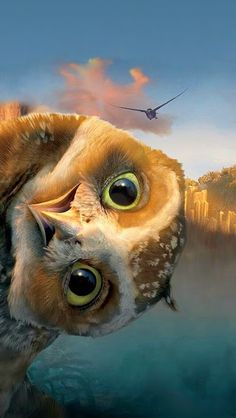 That's Digger from the movie Legends of the guardians: Owls of GA'Hoole.  Fantastic animated movie!! Must see