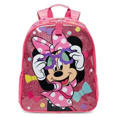 Disney Collection Minnie Mouse Backpack  found at @JCPenney