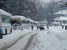 manali in winter season